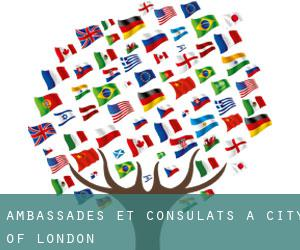 Ambassades et consulats à City of London