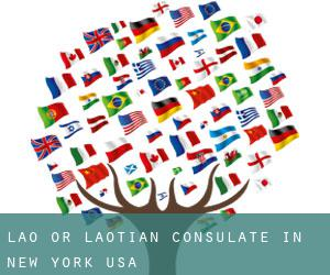 Lao or Laotian Consulate in New York, USA